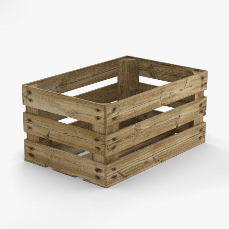 Fruit Crate royalty-free 3d model - Preview no. 1