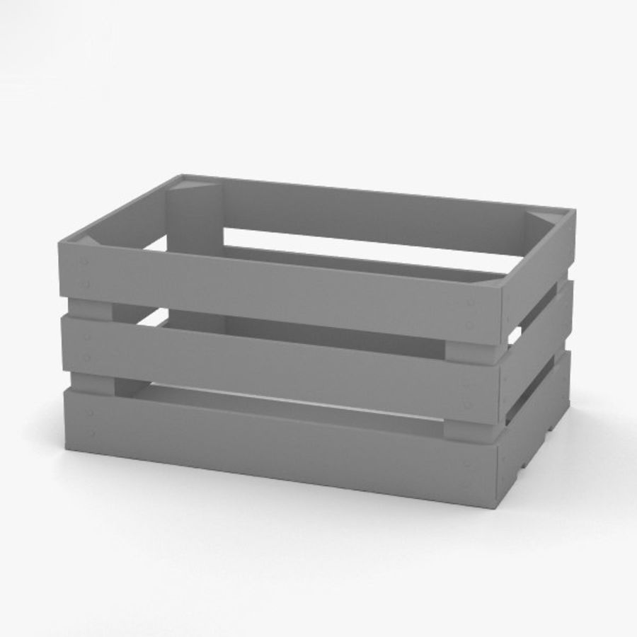 Fruit Crate royalty-free 3d model - Preview no. 12