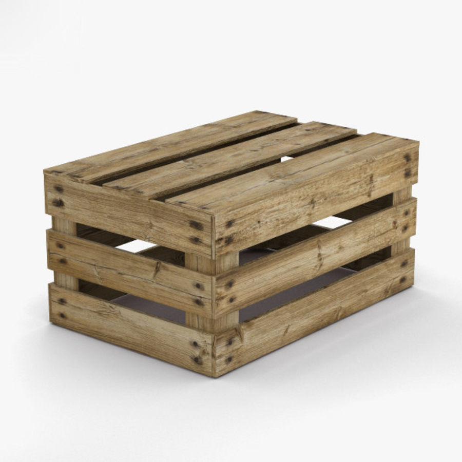 Fruit Crate royalty-free 3d model - Preview no. 9