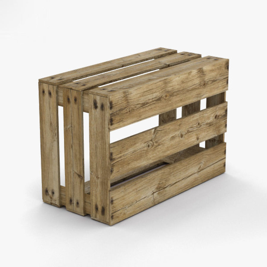 Fruit Crate royalty-free 3d model - Preview no. 10