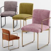 椅子CS1867-Calligaris 3d model