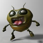 Cartoon Bug RIGGED 3d model