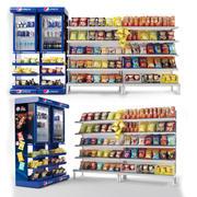 Présentoir de centre commercial 3d model