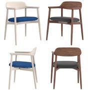 Krzesło krzyżowe Hermana Millera 3d model