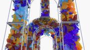 Arco del cielo modelo 3d