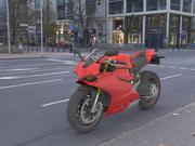 モーターバイク 3d model