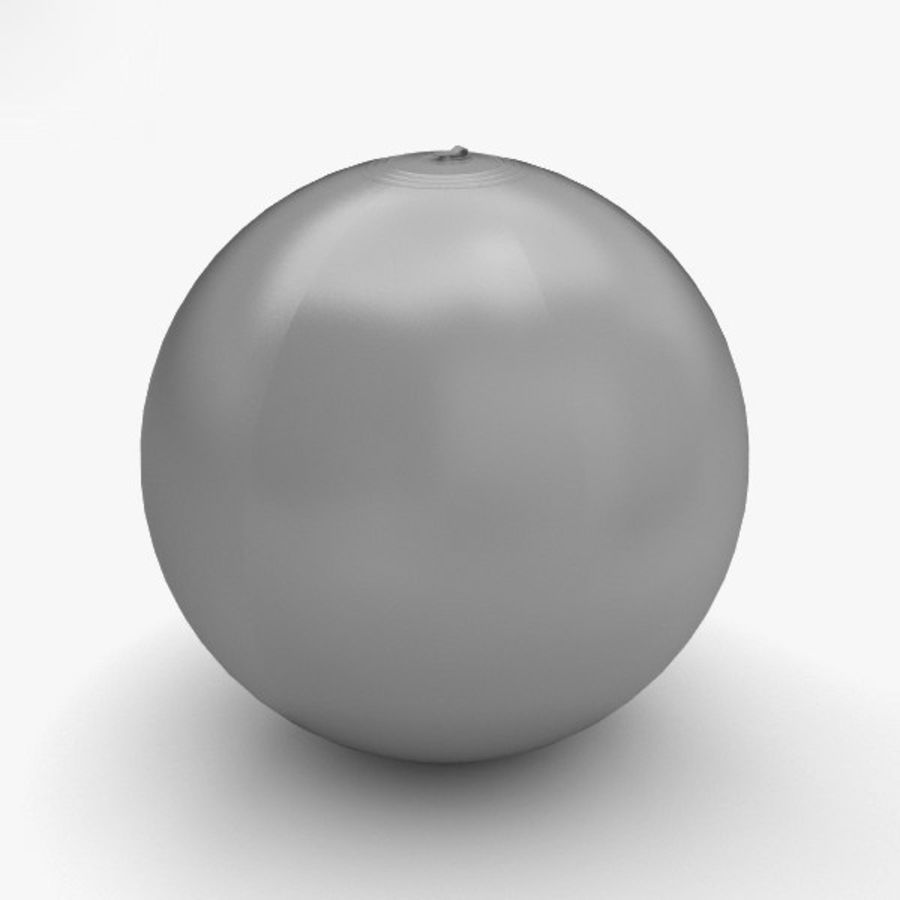 Beach Ball royalty-free 3d model - Preview no. 12