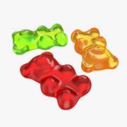 젤리 곰 3d model