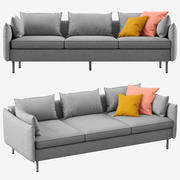 Sofa Made Vento 3 osobowa 3d model