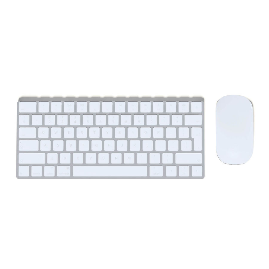 Apple Keyboard 3D 모델 royalty-free 3d model - Preview no. 1