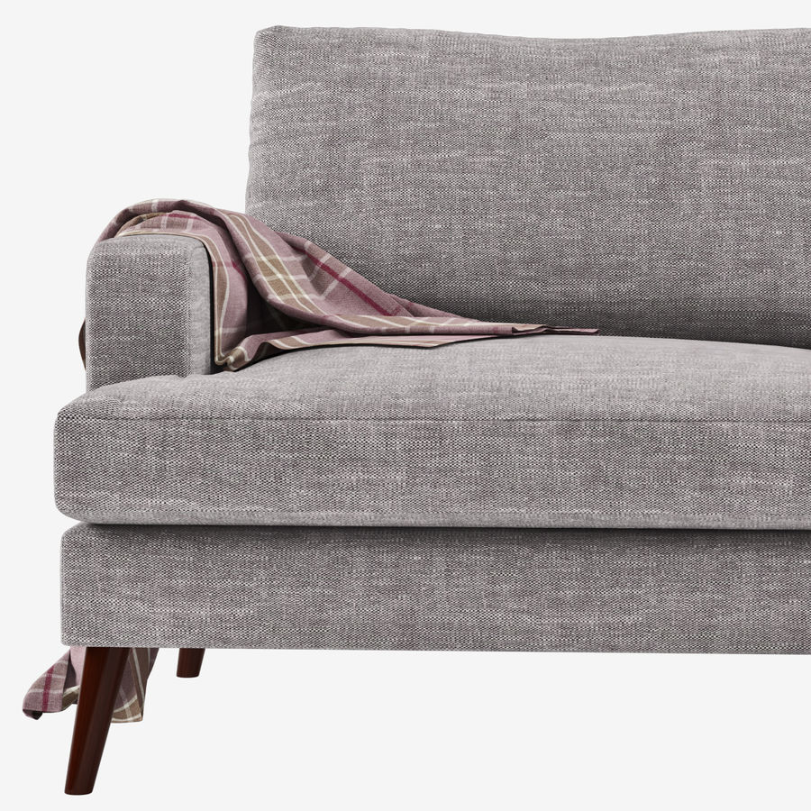 Sofa Made Hewitt royalty-free 3d model - Preview no. 4