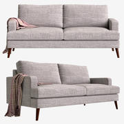 Sofa Made Hewitt 3d model
