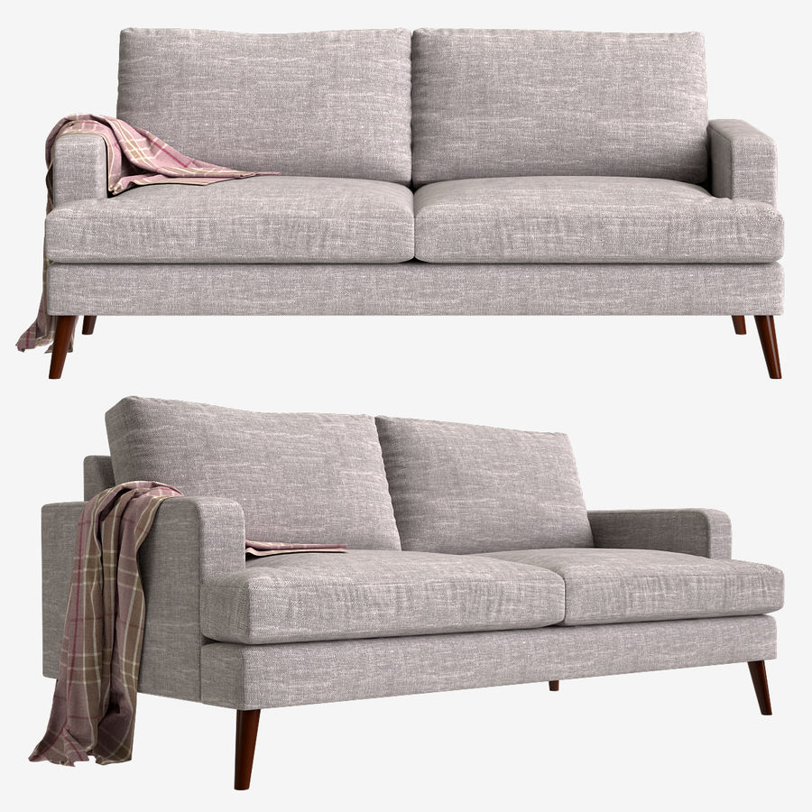 Sofa Made Hewitt royalty-free 3d model - Preview no. 1