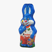 Kinder Chocolate Bunny 3d model