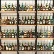 Duży zestaw alkoholowy 12 szt 3d model