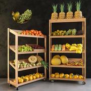 食料品のショーケース2 3d model