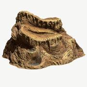Cave Stalagmites 05 3d model