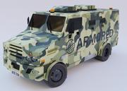 装甲车 3d model