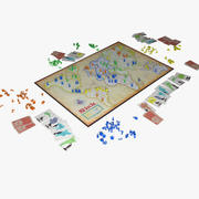 보드 게임 위험 3d model