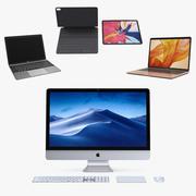 Apple Computers 2018 3D Models Collection 3d model