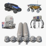 Mars Colony Collection 4 3d model