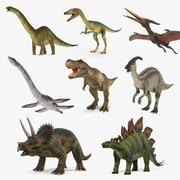 Dinozorlar 3D Modeller Koleksiyonu 3 3d model