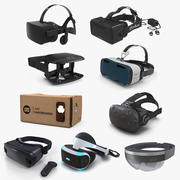 Virtual Reality Goggles 3D Models Collection 5 3d model