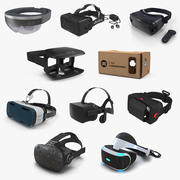 Virtual Reality Goggles 3D Models Collection 6 3d model