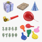 Holiday Accessories 3D Models Collection 3d model