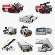 Airport Vehicles 3D模型集合3 3d model