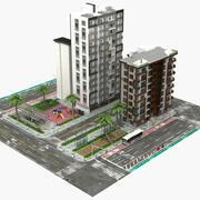 Édifice de la ville - Petit 2 3d model