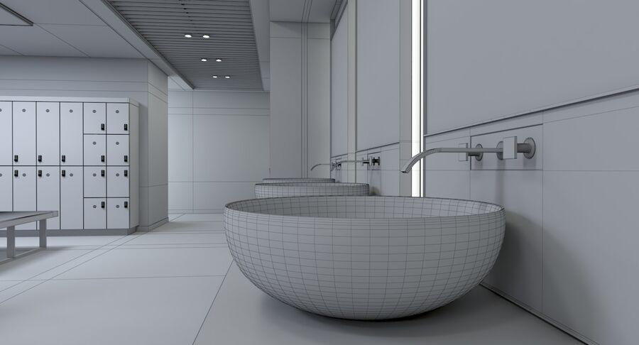 Vestiário royalty-free 3d model - Preview no. 17