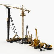 Machines de construction 2 3d model