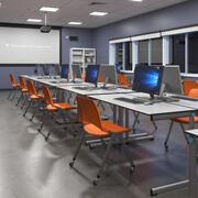 Computer Classroom 3d model