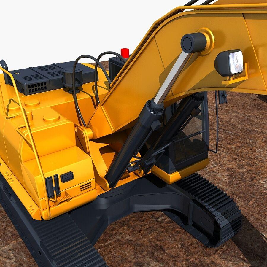 工程机械3 royalty-free 3d model - Preview no. 20