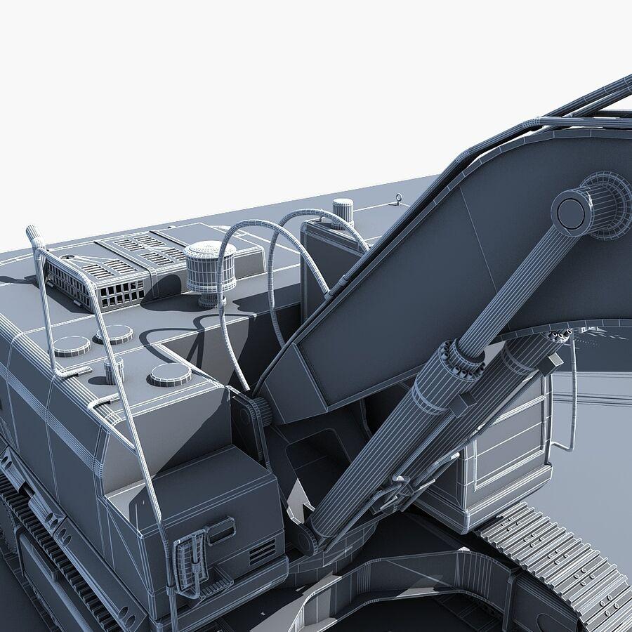 工程机械3 royalty-free 3d model - Preview no. 30
