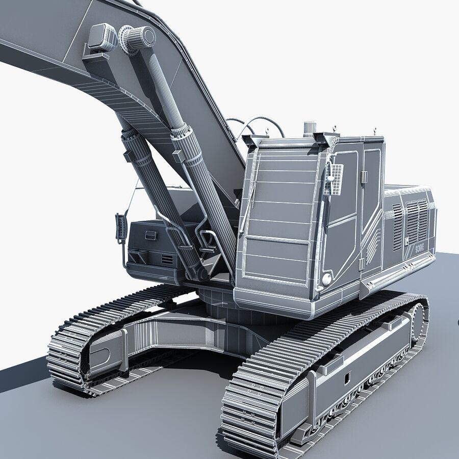 工程机械3 royalty-free 3d model - Preview no. 27