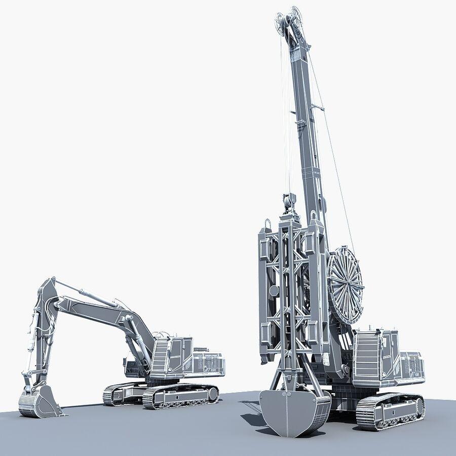 工程机械3 royalty-free 3d model - Preview no. 21