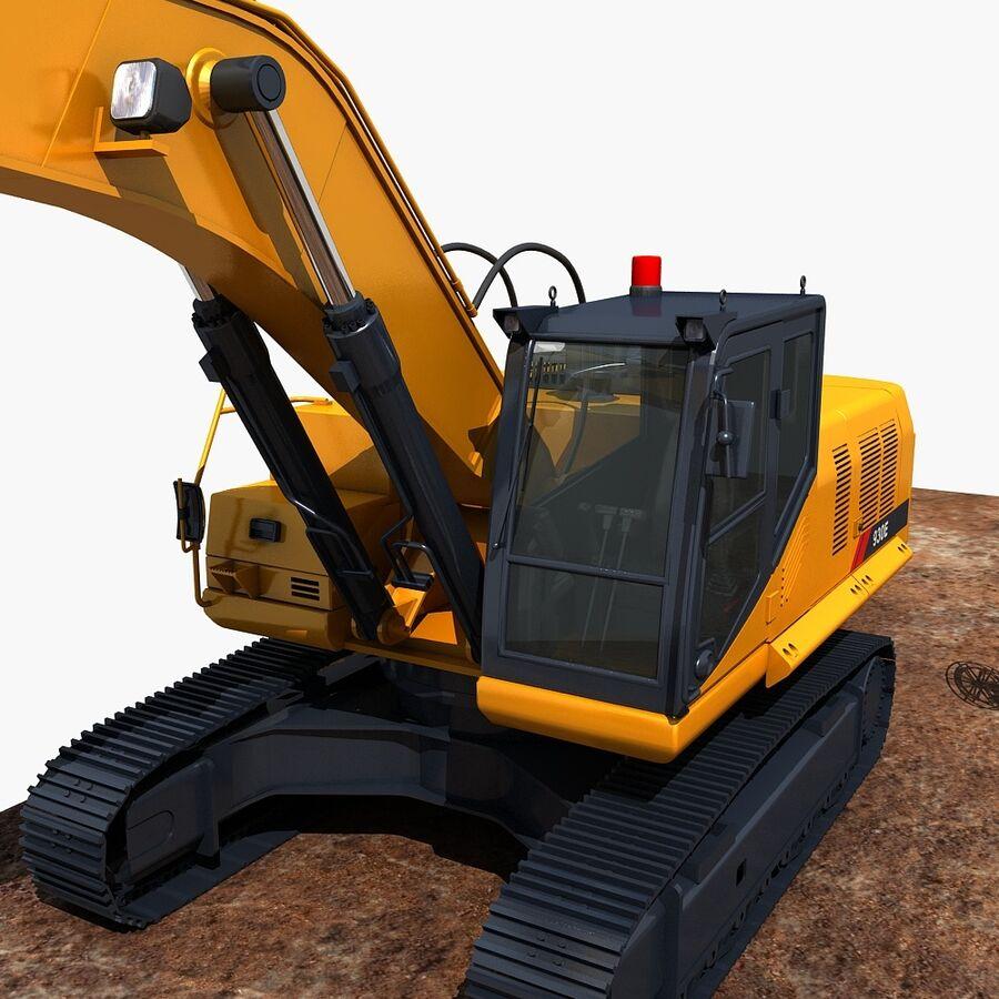 工程机械3 royalty-free 3d model - Preview no. 17