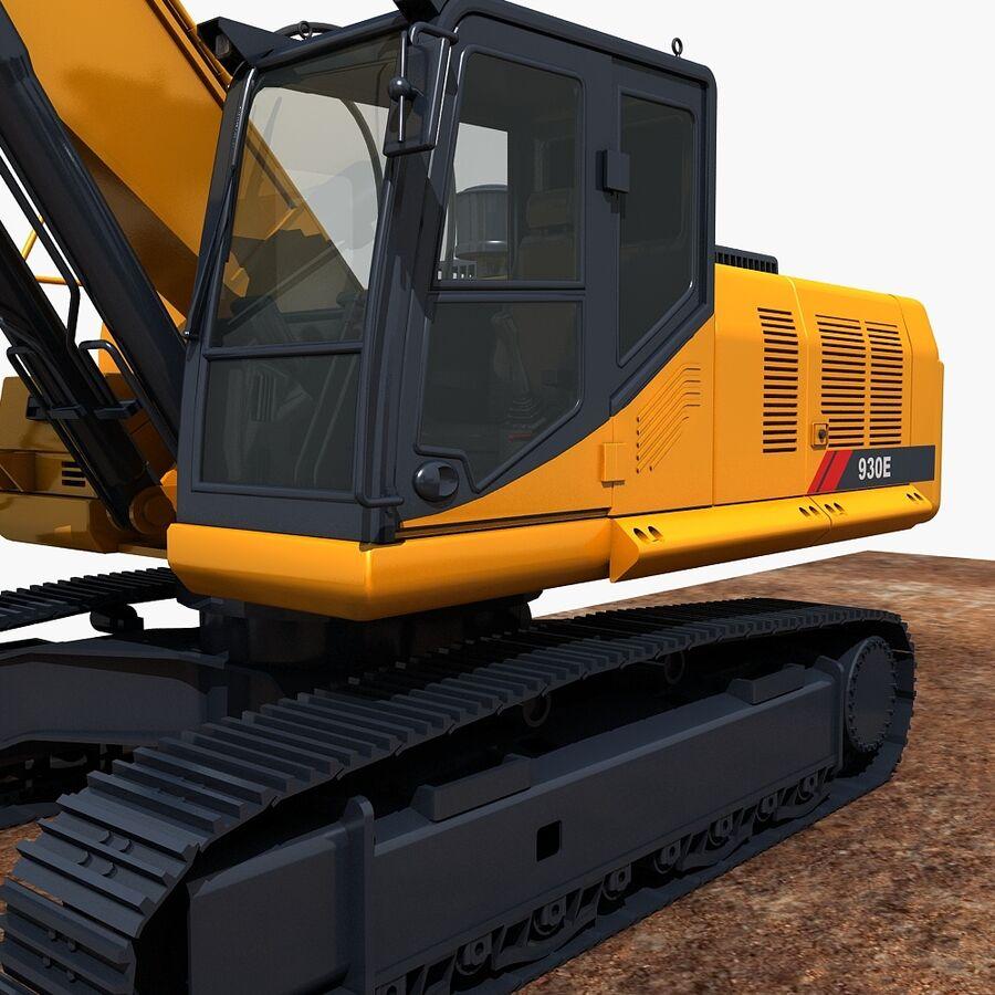 工程机械3 royalty-free 3d model - Preview no. 18