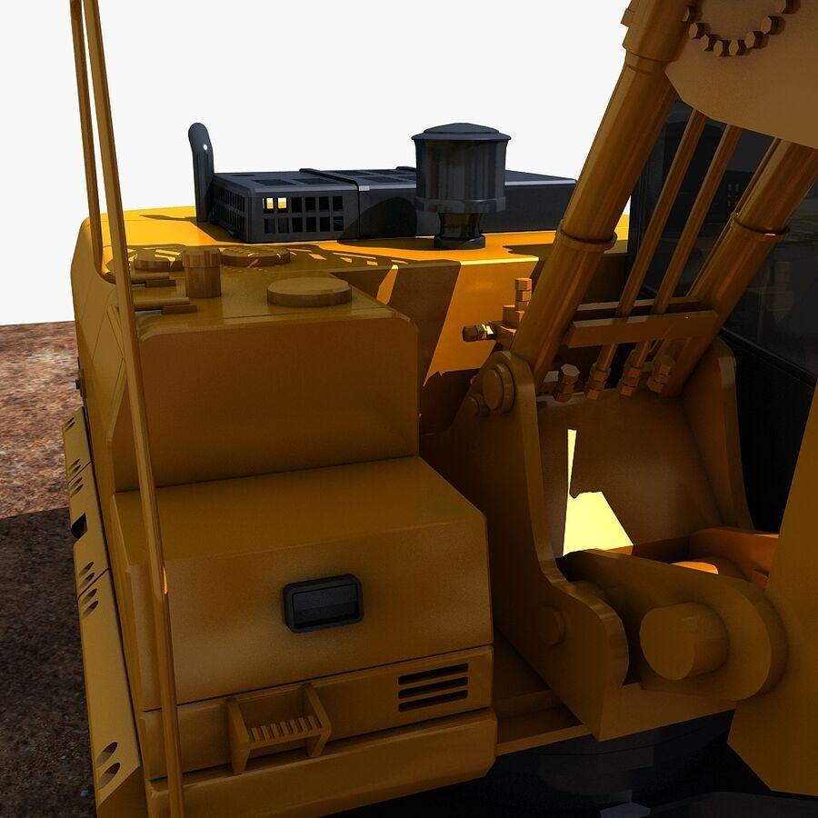 工程机械3 royalty-free 3d model - Preview no. 12