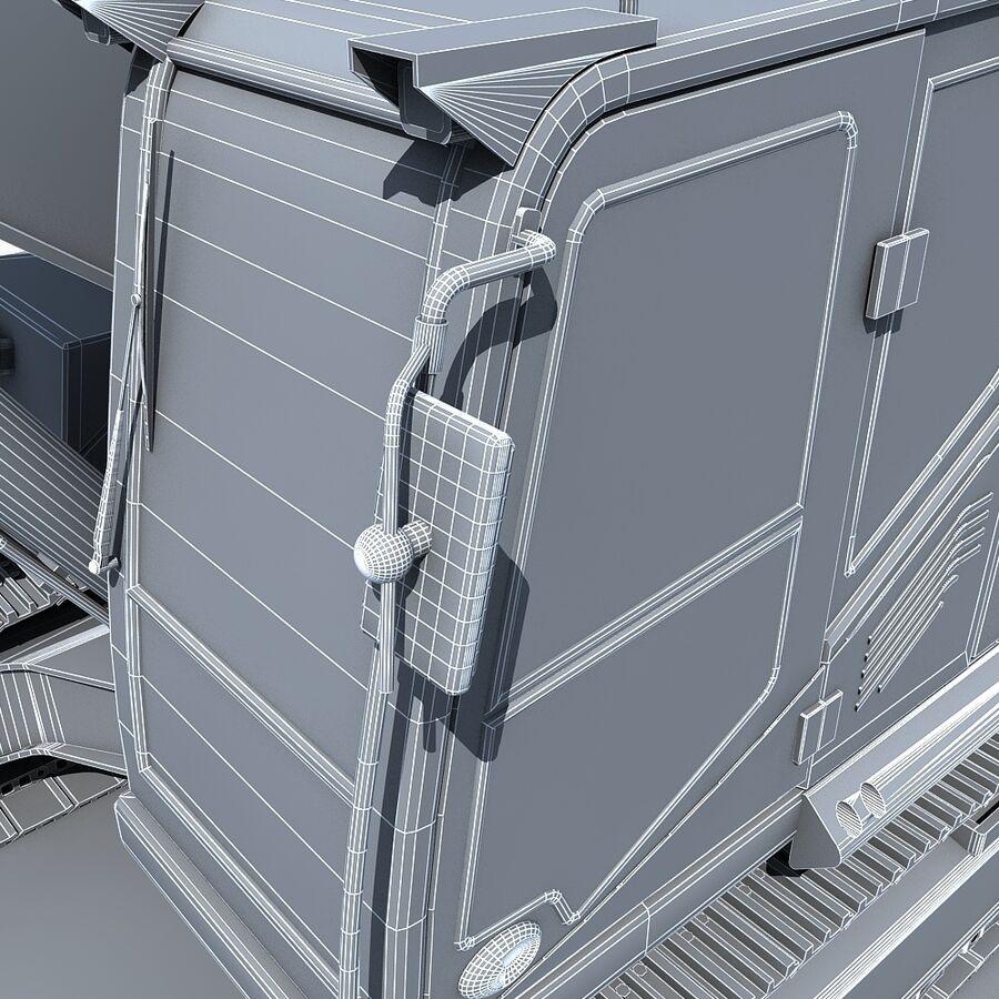 工程机械3 royalty-free 3d model - Preview no. 29