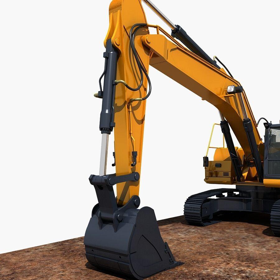 工程机械3 royalty-free 3d model - Preview no. 15