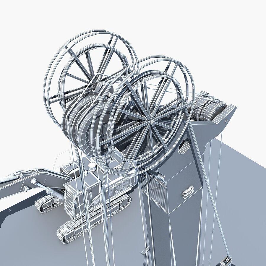 工程机械3 royalty-free 3d model - Preview no. 23