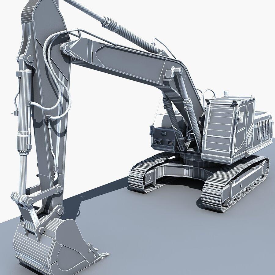 工程机械3 royalty-free 3d model - Preview no. 26