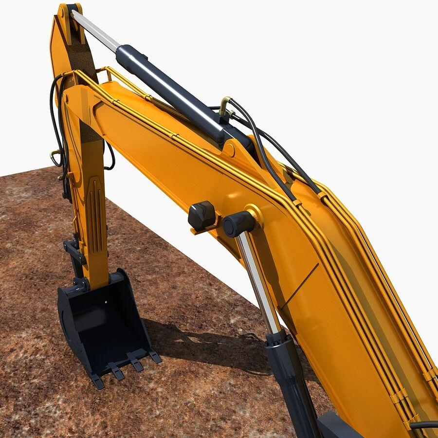工程机械3 royalty-free 3d model - Preview no. 16