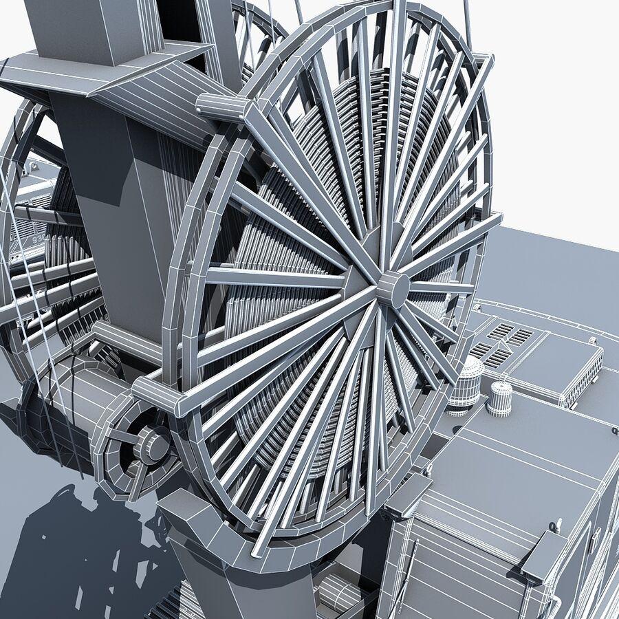 工程机械3 royalty-free 3d model - Preview no. 24
