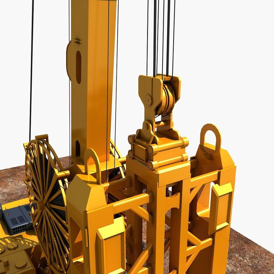 工程机械3 royalty-free 3d model - Preview no. 5