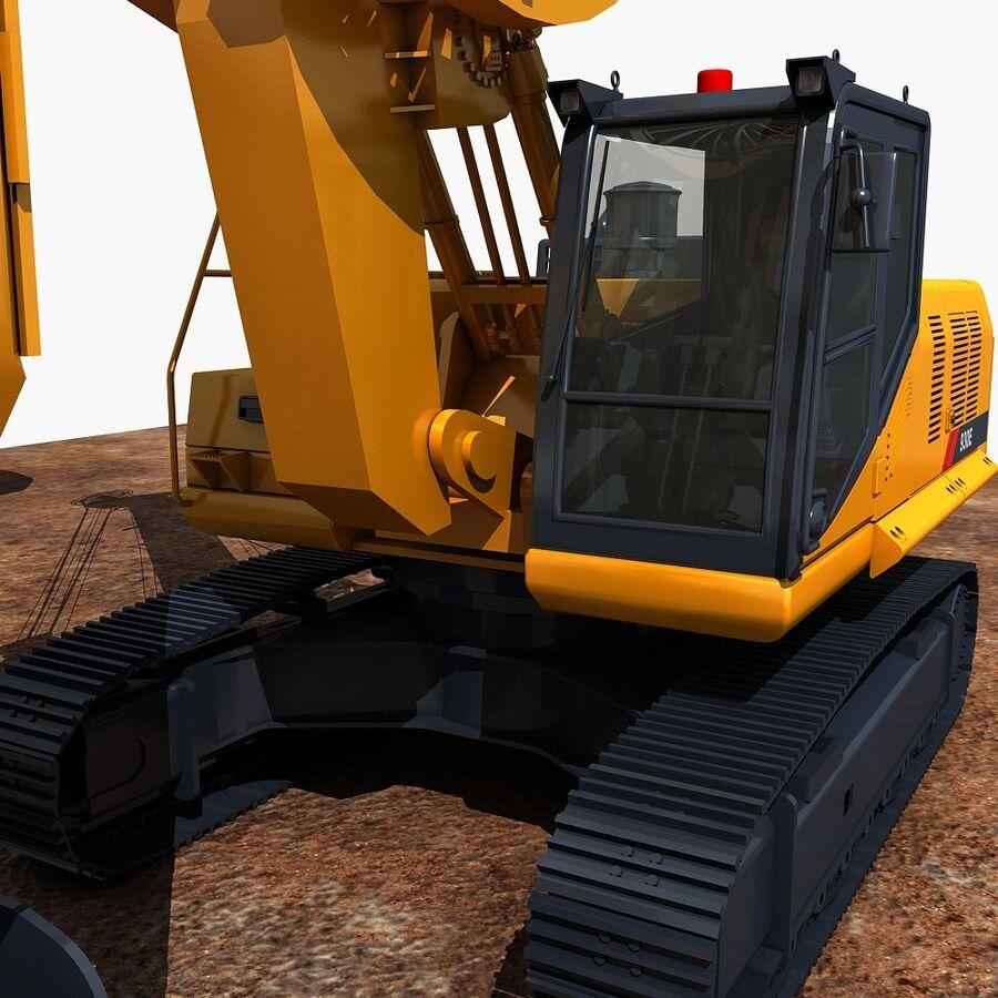 工程机械3 royalty-free 3d model - Preview no. 8