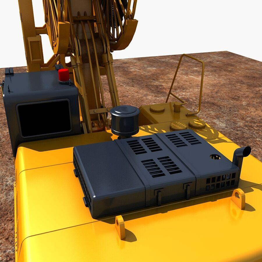 工程机械3 royalty-free 3d model - Preview no. 10